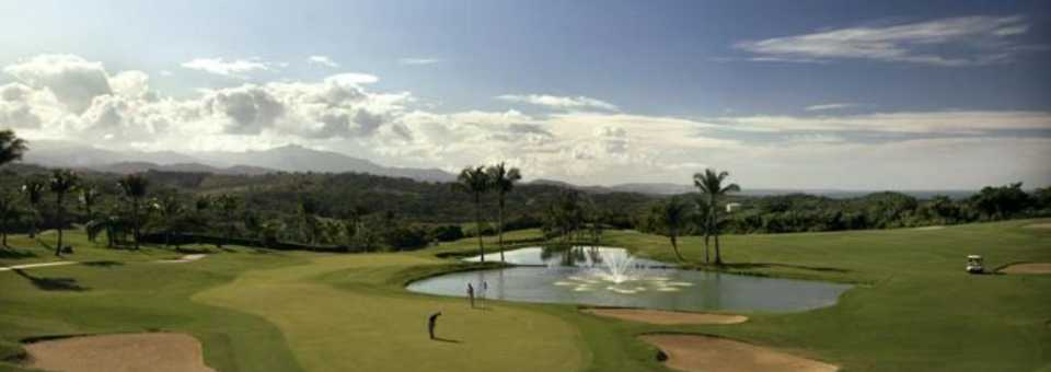El Conquistador Resort golf course - 9th green