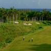 A view of a fairway at Half Moon Golf Club