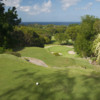 A view from a tee at Old 9 Course from Sandy Lane Golf Club