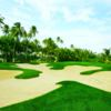 A view of hole #16at Bahia Beach Resort & Golf Club