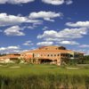 A view of the clubhouse at Trump International Golf Club