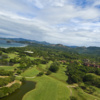 Aerial view from Reserva Conchal Golf Club