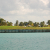 A view over the water from Caye Chapel Golf Resort (Caribbean Island Brokers)