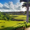 A view of tee #10 at Royal Westmoreland Golf & Country Club