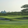 A view of a hole at La Romana Golf Club.