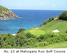 No. 13 at Mahogany Run Golf Course