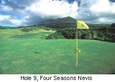 Hole 9, Four Seasons Nevis