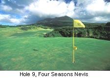 Hole 9, Four Seasons Nevis
