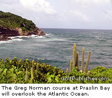 The Greg Norman Golf Course