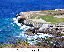Curacao Golf and Squash Club - 5th is the Signature Hole