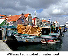 Willemstad's colorful waterfront